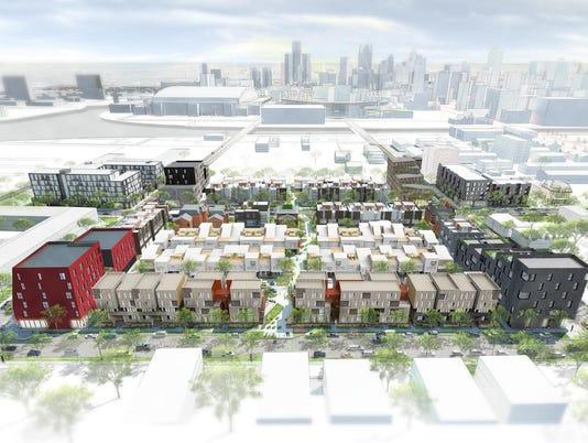 Dan Gilbert's City Modern project in Brush Park