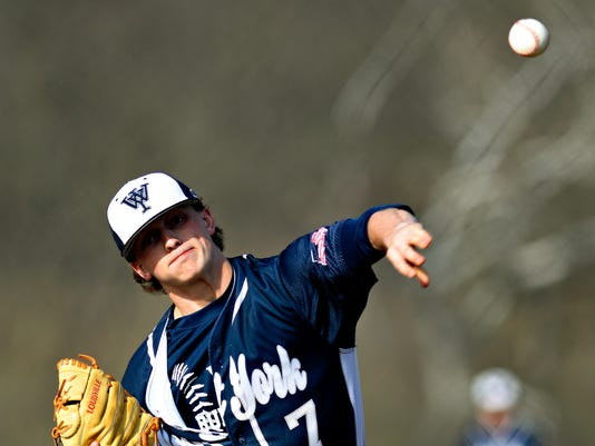 West York vs Central York baseball