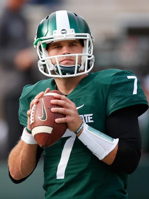 """""""The biggest thing is we've never stopped fighting,"""" MSU quarterback Tyler O'Connor said. """"We've always grinded every game out as hard as we could. We've put everything into it. There's never a lack of belief or dedication."""""""