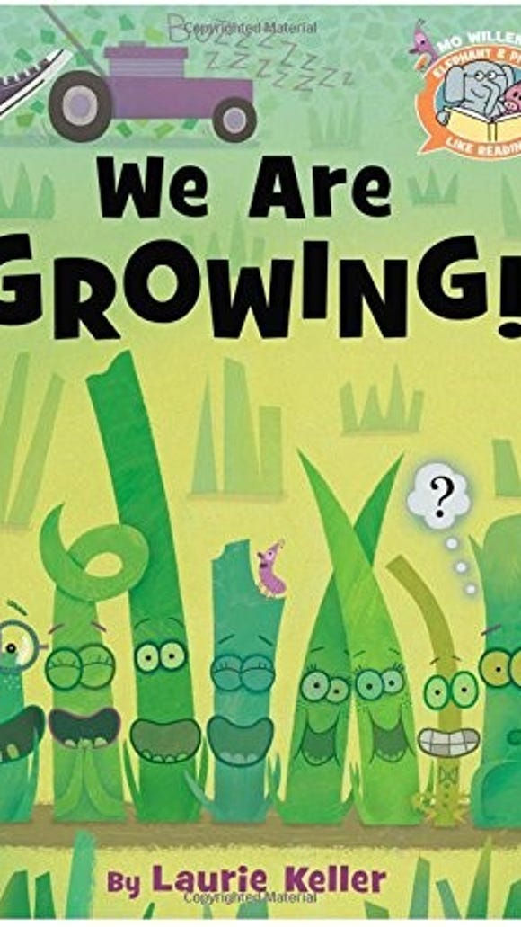 'We Are Growing' by Laurie Keller