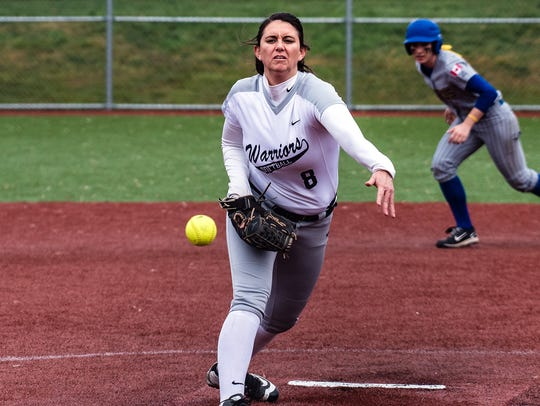 Allie Mendez is a standout pitcher for the nationally-ranked