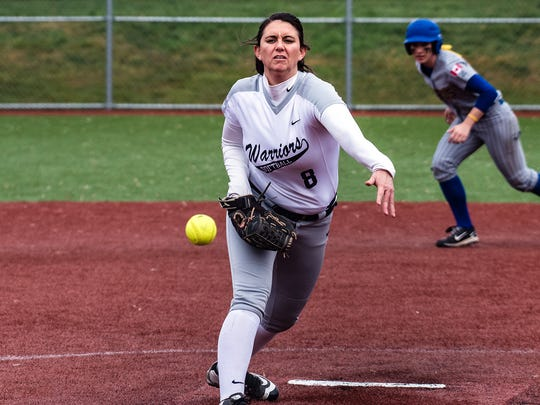 Allie Mendez is a standout pitcher for the nationally-ranked Corban University softball team.