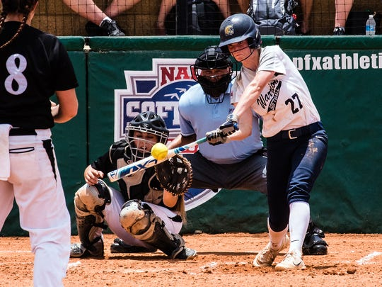 Jesse Isham helped lead the Corban softball team to the NAIA World Series National Championship Game last season and was named a second team NAIA All-American.