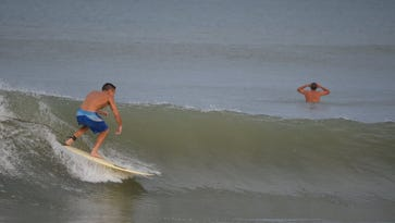 Playalinda Beach, within the Canaveral National Seashore, is a popular surfing destination.