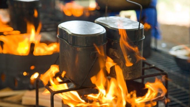 Labor day camping can be made easy with simple food hacks.