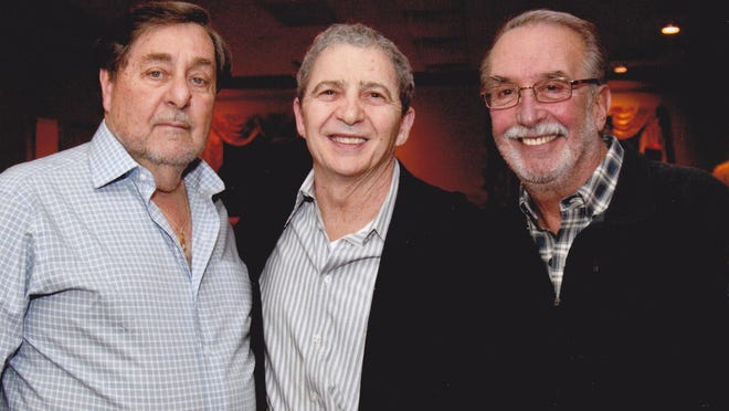 Pictured (left to right) are: Larry Gellar, Ron Trisuzzi and Joel Schlachter.