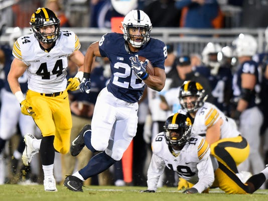 NCAA Football: Iowa at Penn State