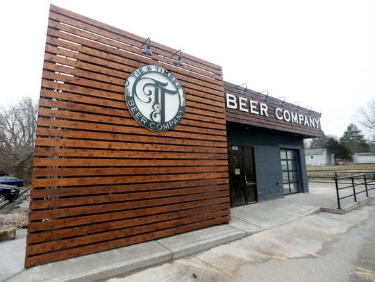 Tie & Timber Beer Company in the Rountree neighborhood