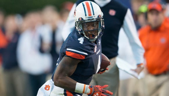 Auburn wide receiver Quan Bray is second in the country