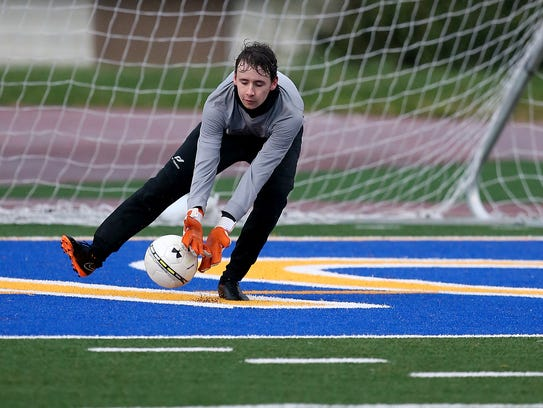 Giacomo Battu is the starting goalkeeper for a North Kitsap team that's aiming for another postseason berth.
