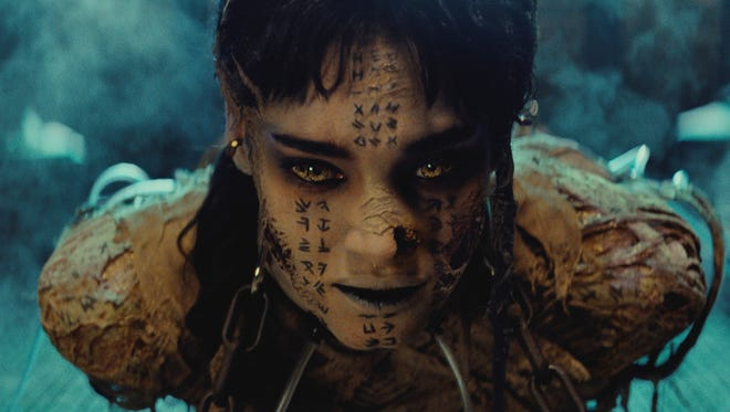 "Sofia Boutella plays Ahmanet in ""The Mummy."""