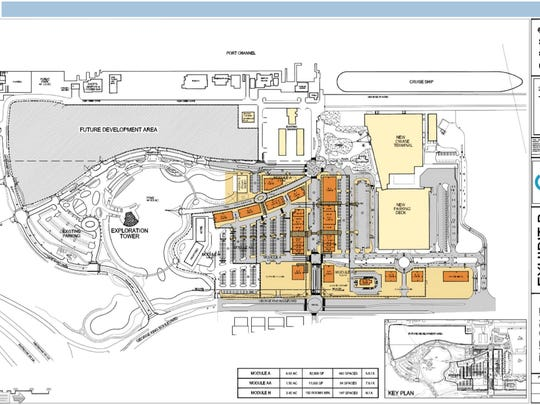 The Cove master plan.