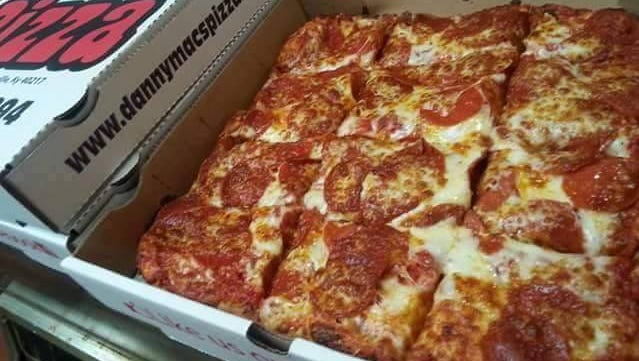 Danny Mac's offers hand tossed and thin crust pizzas along with subs, calzones and pasta.