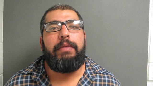 Isaiah Gomez was arrested on suspicion of aggravated assault of a family member, resisting arrest and criminal mischief in Mathis on Dec. 11, 2016.