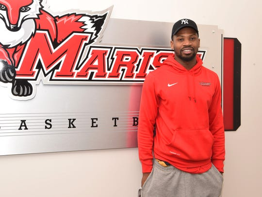 Isaiah Lamb, 20, a sophomore at Marist College and a member of the men's basketball team, is formerly homeless.