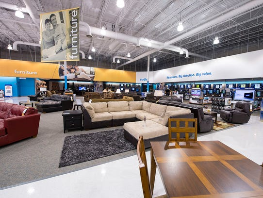 Appliance retailer goes from TVs to home furnishings