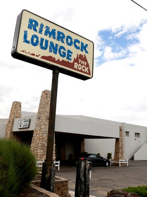 The front entrance of the Rimrock Lodge is seen on Sept. 14 on U.S. Highway 64 in Farmington.