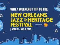 New Orleans Jazz & Heritage Festival presented by Shell® Sweepstakes