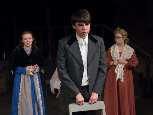 "Riverfront Playhouse's production of Charles Dickens' ""The Christmas Carol"" runs until Dec.9."