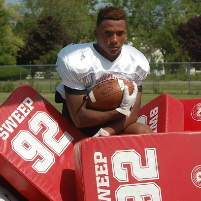 A junior running back, JoJo Kellum will be the focal point of Lenape's offensive attack this season.
