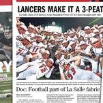 Celebrate La Salle's historic state title three-peat