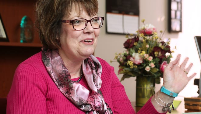 Mindy Fehrman soon will retire from Coshocton County Job and Family Services.