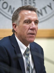 Republican gubernatorial candidate Phil Scott.