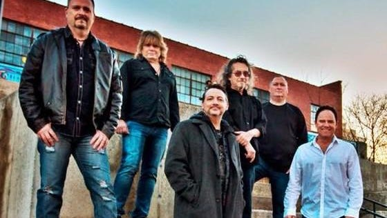The Dirty Saints take the stage Friday night at Midnight Rodeo, 1773 S. Glenstone Ave. From left: Jeff Ward, Scot Henry, Rus Weatherby, Richard Kittleman, Kelly Bowman, Dirk Allmon.