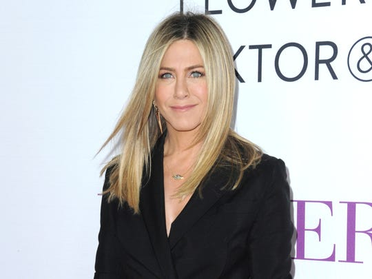 In this April 13, 2016, file photo, Jennifer Aniston