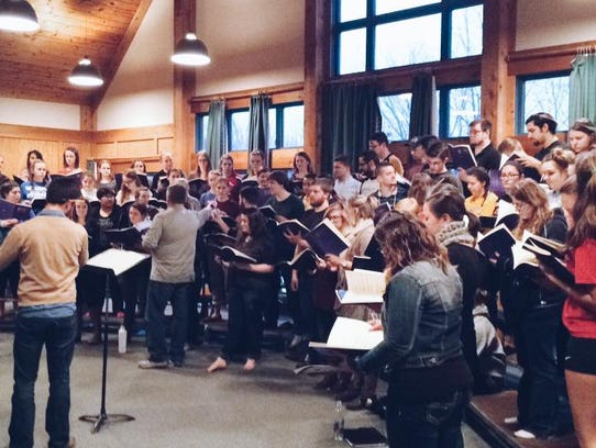 The Germantown High School choir will team up with