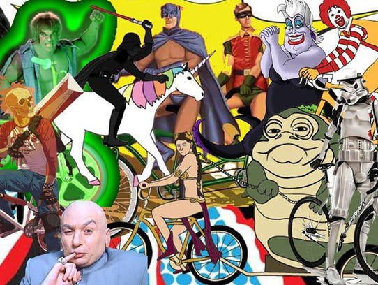 Point Area Bicycle Service will host its Superheroes