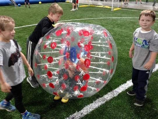 Coming soon to Cincy Sports Nation: bubble soccer.