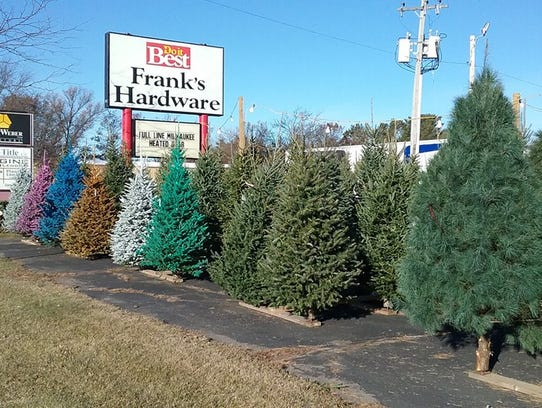 Wolosek Christmas Trees, located at 2400 Tower Road