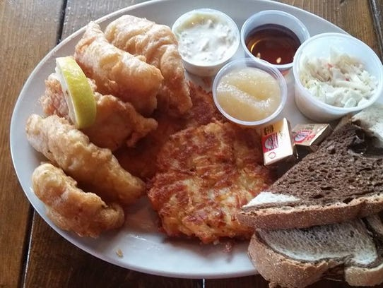 Since taking over in 2015, DeeDee and Joe Agathen have been offering fish fry at Kick Switch in Okauchee.