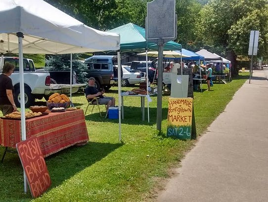 The Hot Springs Homegrown and Handmade Market features
