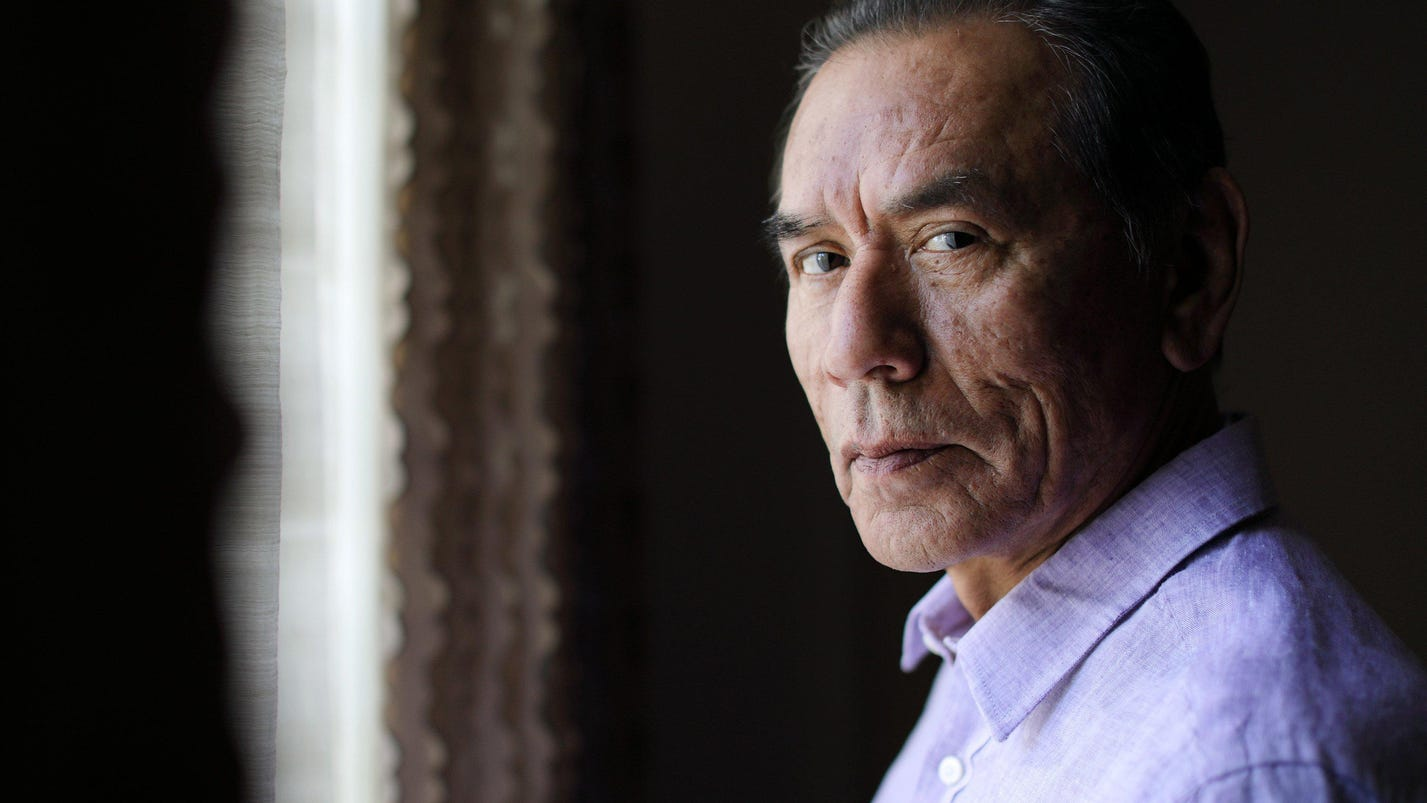 Wes Studi on playing American Indians and getting older