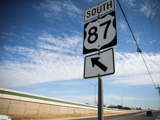 Plans to extend Interstate 27 might include parts of US 87 through San Angelo. The road will be widened and flattened if plans are approved.