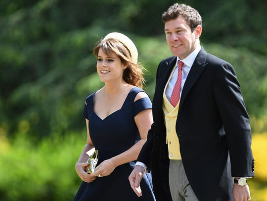 Princess Eugenie of York  and her boyfriend Jack Brooksbank