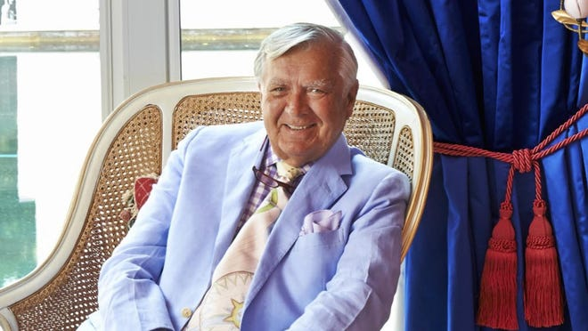 """Interior designer and Palm Bech resident Carleton Varney, president of Dorothy Draper & Co., has written the """"Your Family Decorator"""" column for the Palm Beach Daily News for more than 35 years."""