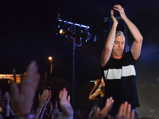 Fitz and the Tantrums play to a sold-out crowd at Simon
