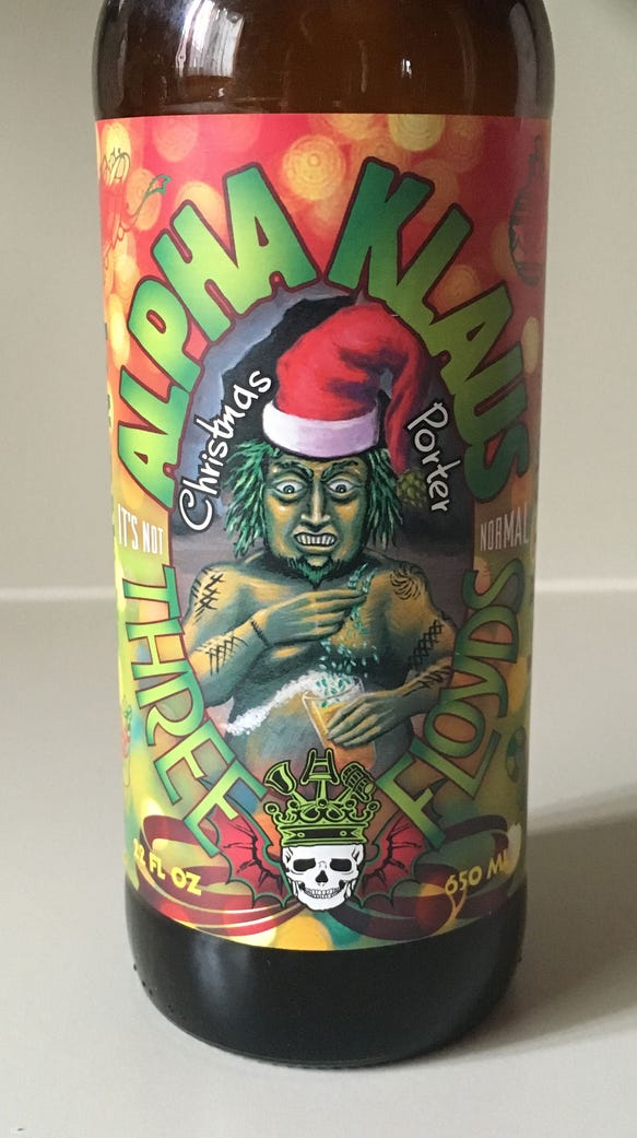 Alpha Klaus, by 3 Floyds Brewing