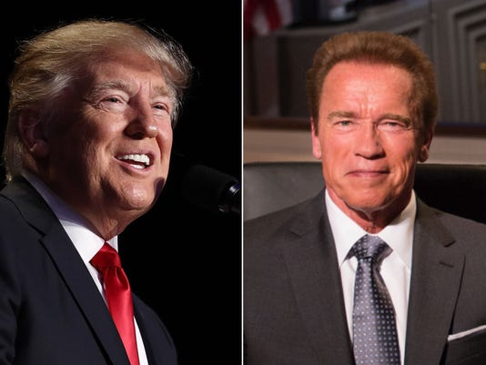 Trump taunts Schwarzenegger over governorship