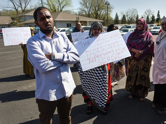 School Protest 1