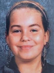 This undated photo shows Lyric Cook-Morrissey, 10,