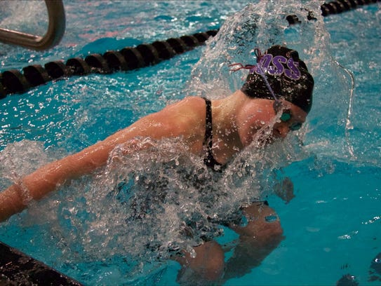 Alexis Prenzlin of Fremont Ross qualified to state in the 100 breaststroke and on two relays.
