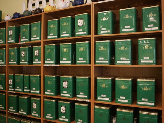 There are over 140 varieties of tea at the Silver Tips