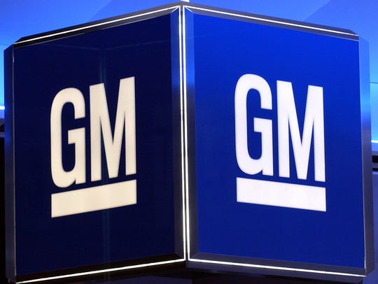 The logo for the General Motors Corporation