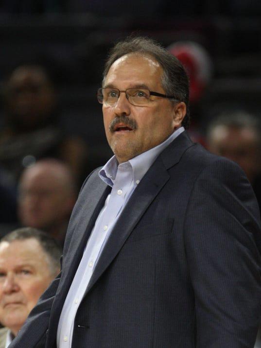 Stan Van Gundy Pistons Pistons Coach Stan Van Gundy