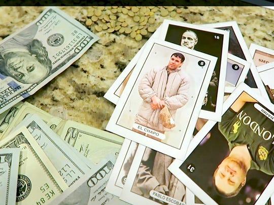 """Los personajes del momento, Joaquín """"El Chapo"""" Guzmán y Kate del Castillo están en las cartas."""