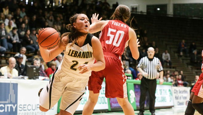Lebanon's Kristen Spolyar, the state's leading scorer, has the Tigers one game away from the state finals.